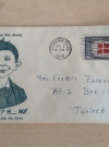 Image of War Bonds Envelopes with Alfred E. Neuman