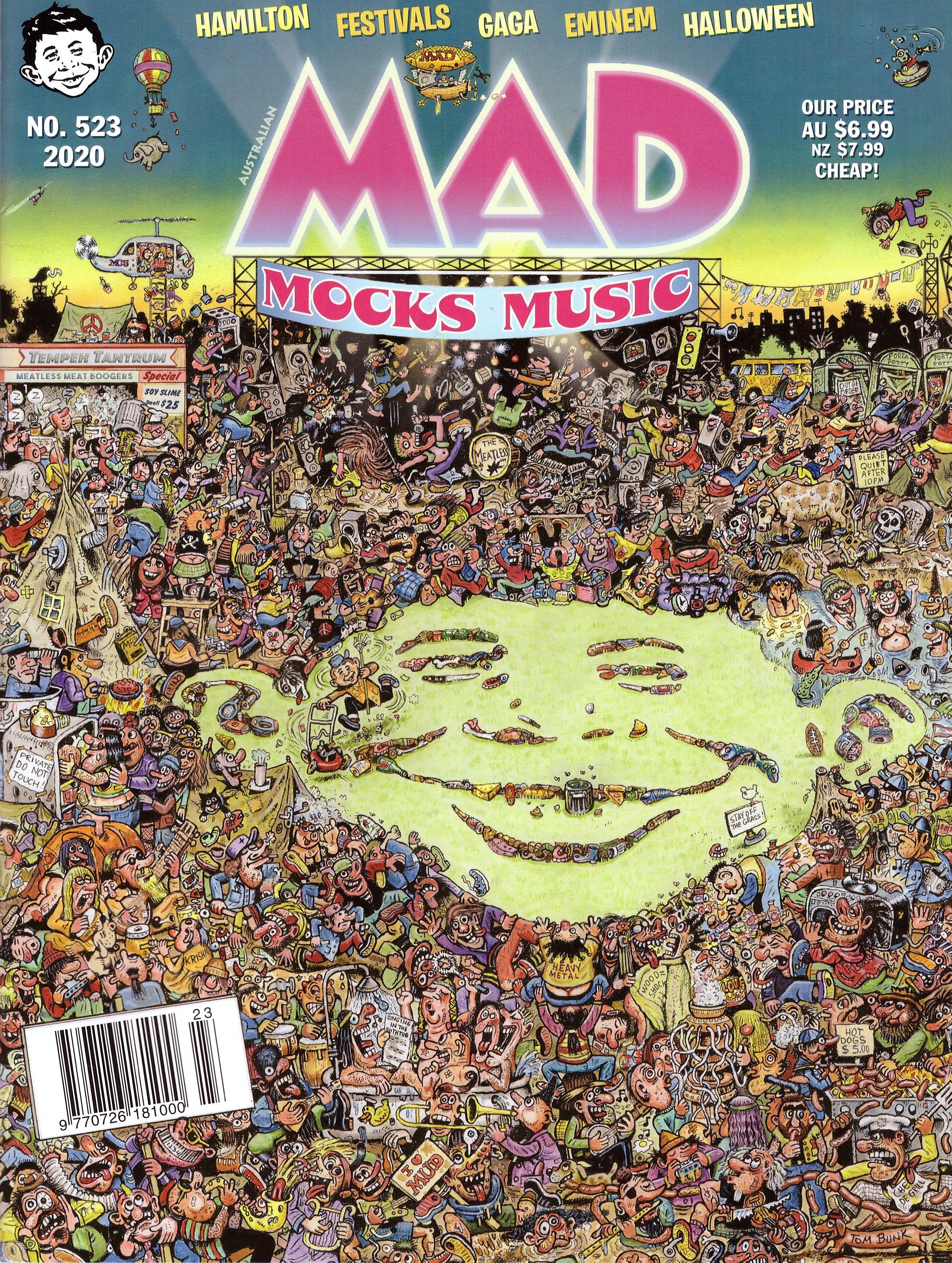 MAD Magazine #523 • Australia