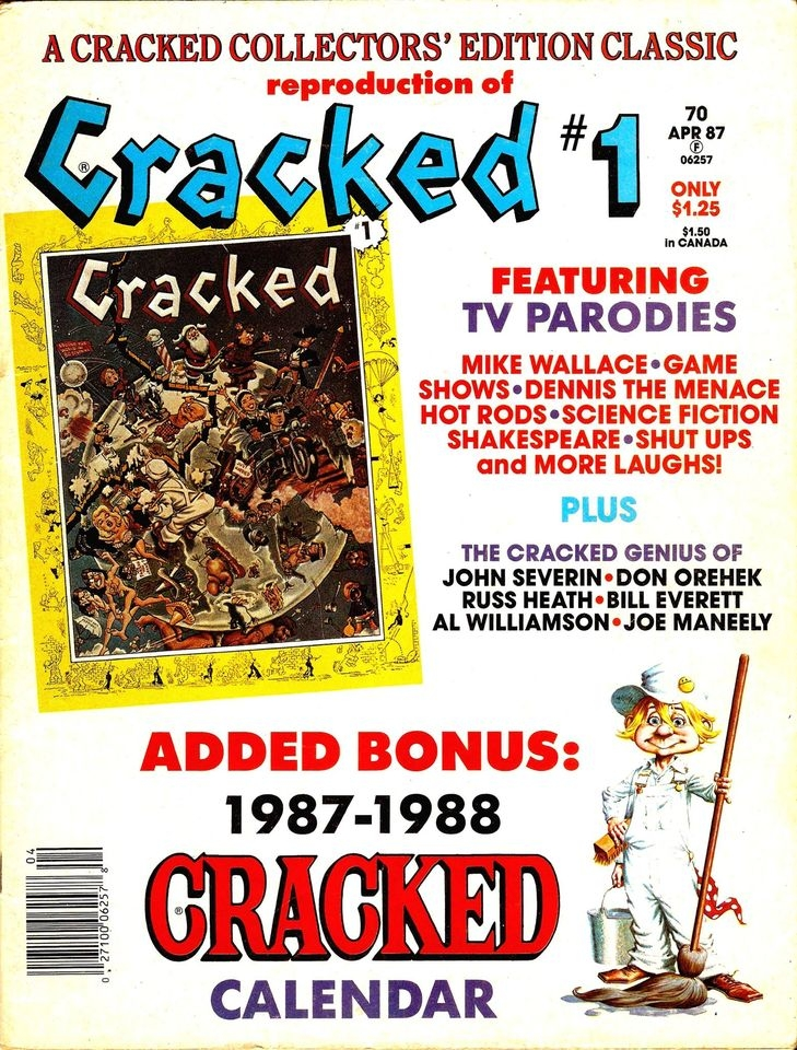 Cracked Collector's Edition #70 • USA