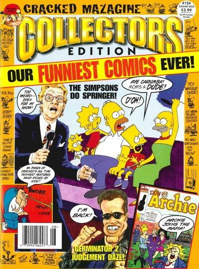 Cracked Collector's Edition #124 • USA