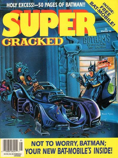 Cracked Super #6 • USA