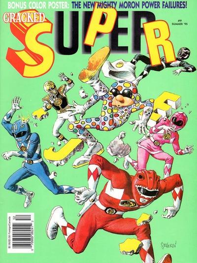 Cracked Super #9 • USA