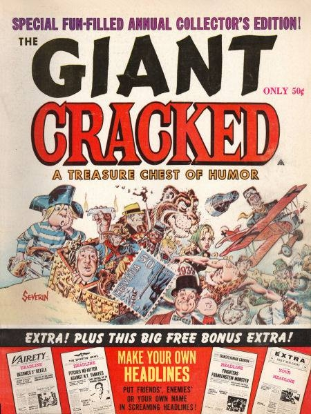 Giant Cracked #1 • USA