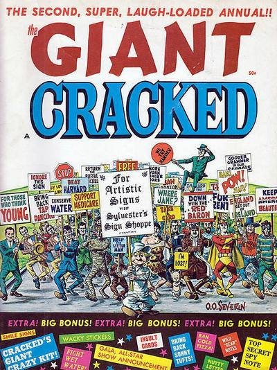 Giant Cracked #2 • USA