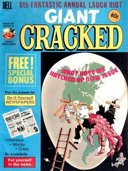 Giant Cracked #8 • USA