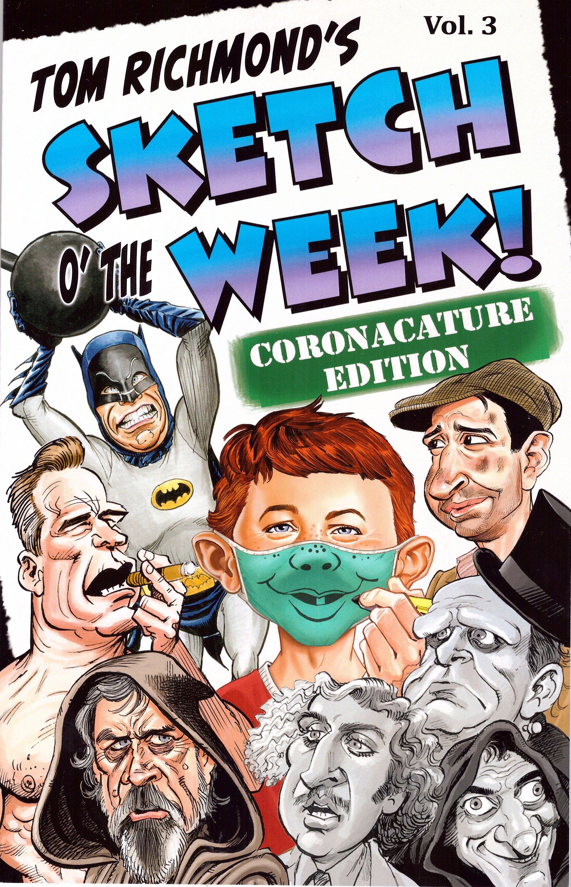 Tom Richmond's Sketch O' The Week! • USA