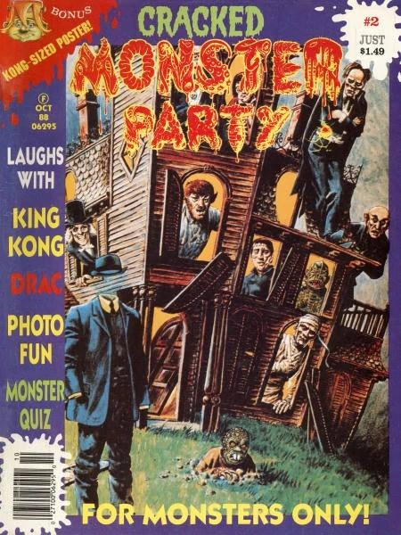 Cracked Monster Party #2 • USA