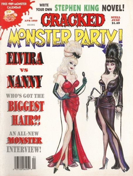 Cracked Monster Party #4 • USA