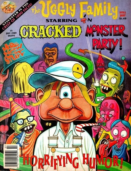 Cracked Monster Party #5 • USA