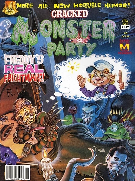 Cracked Monster Party #6 • USA
