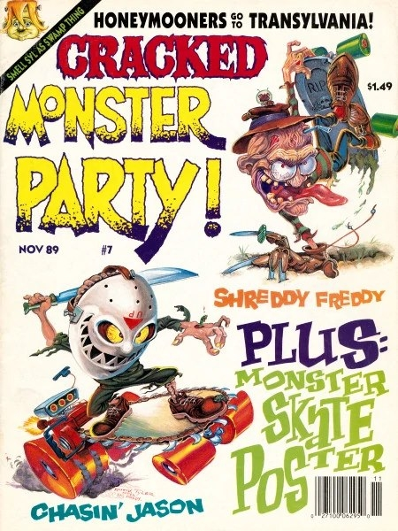 Cracked Monster Party #7 • USA