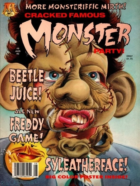 Cracked Monster Party #9 • USA