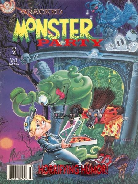 Cracked Monster Party #10 • USA