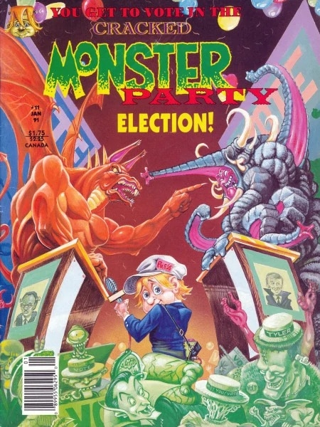 Cracked Monster Party #11 • USA