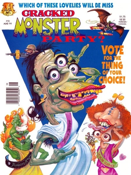 Cracked Monster Party #13 • USA