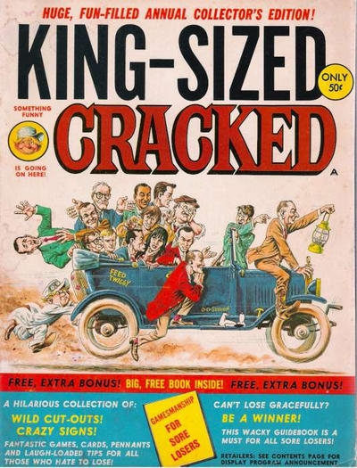 King-Sized Cracked #1 • USA