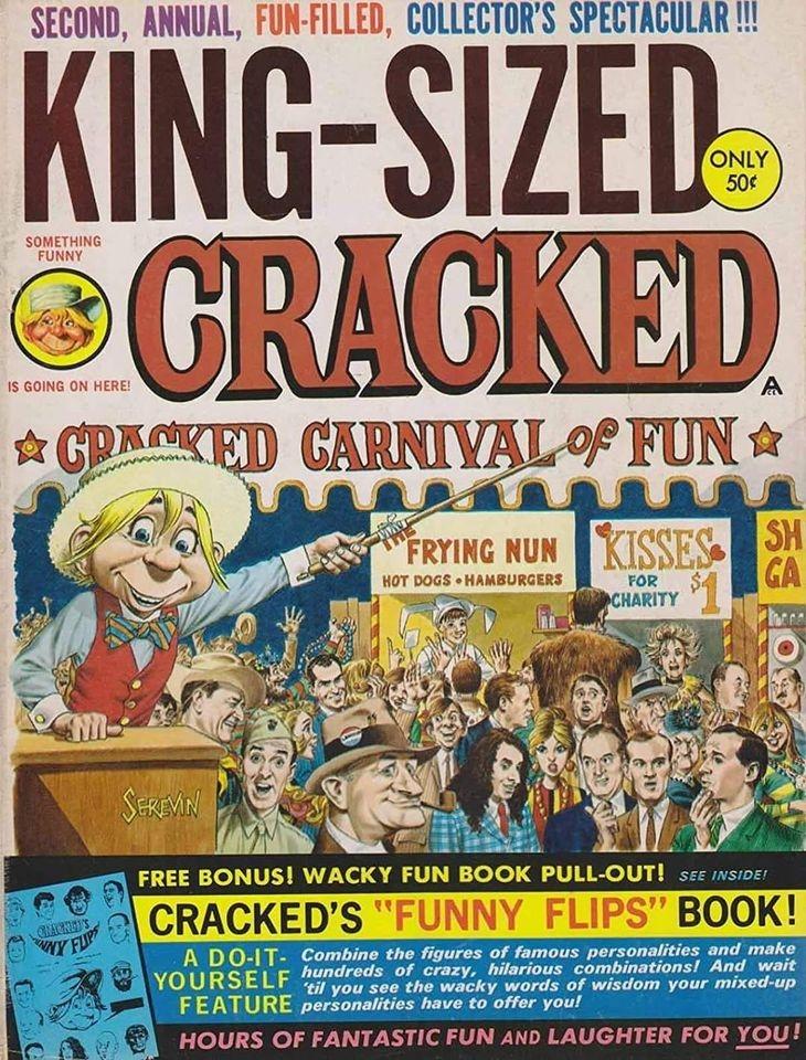King-Sized Cracked #2 • USA