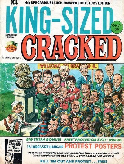 King-Sized Cracked #4 • USA