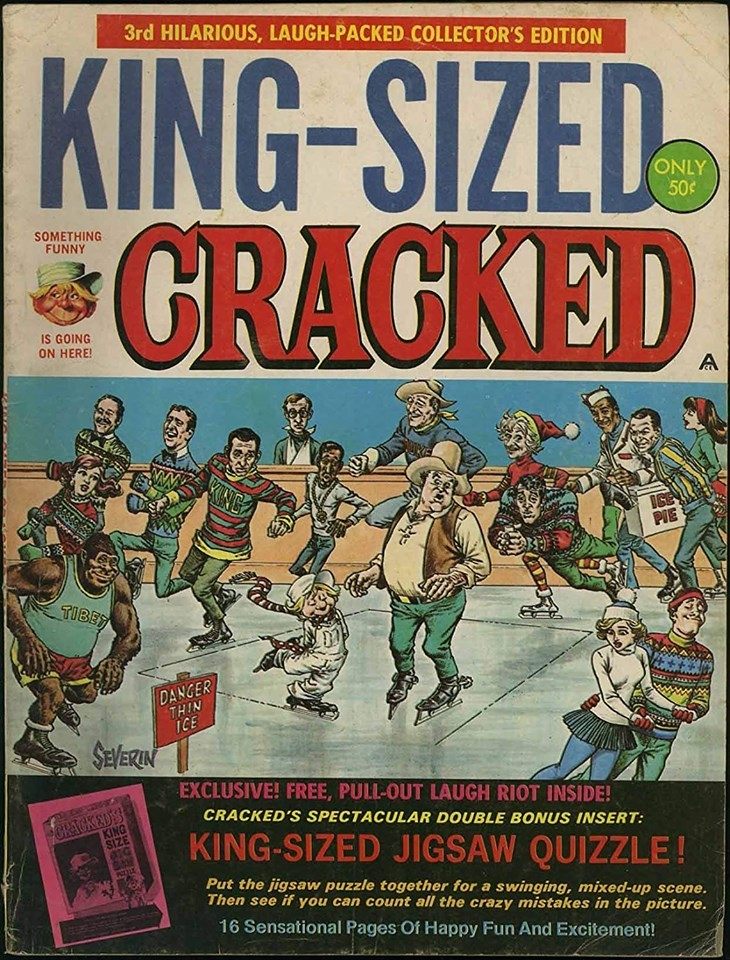 King-Sized Cracked #3 • USA