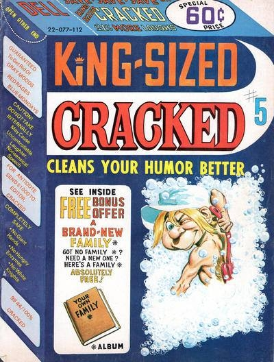 King-Sized Cracked #5 • USA
