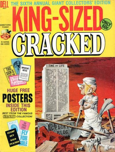 King-Sized Cracked #6 • USA