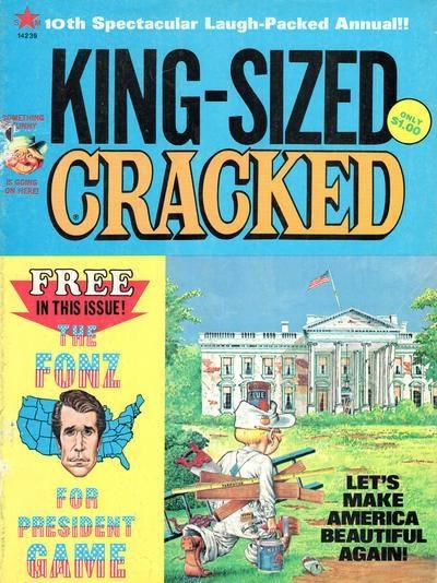 King-Sized Cracked #10 • USA
