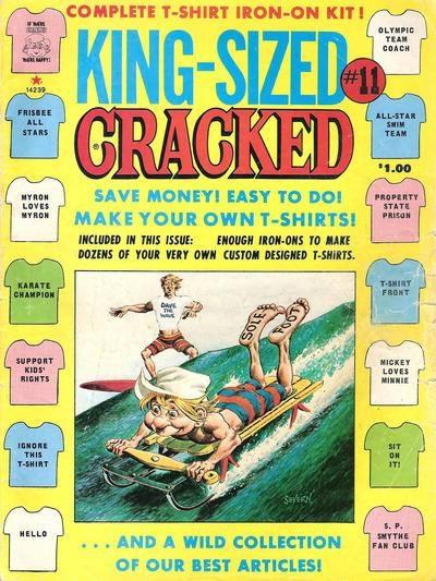 King-Sized Cracked #11 • USA