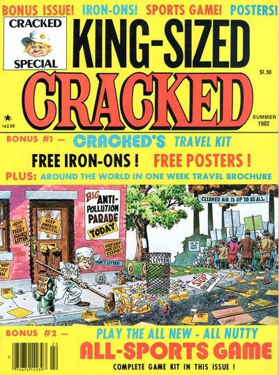 King-Sized Cracked #16 • USA