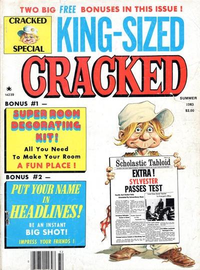 King-Sized Cracked #17 • USA