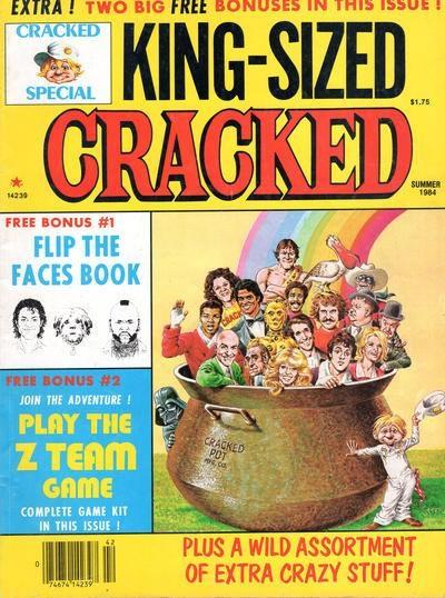 King-Sized Cracked #18 • USA