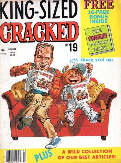 King-Sized Cracked #19 • USA