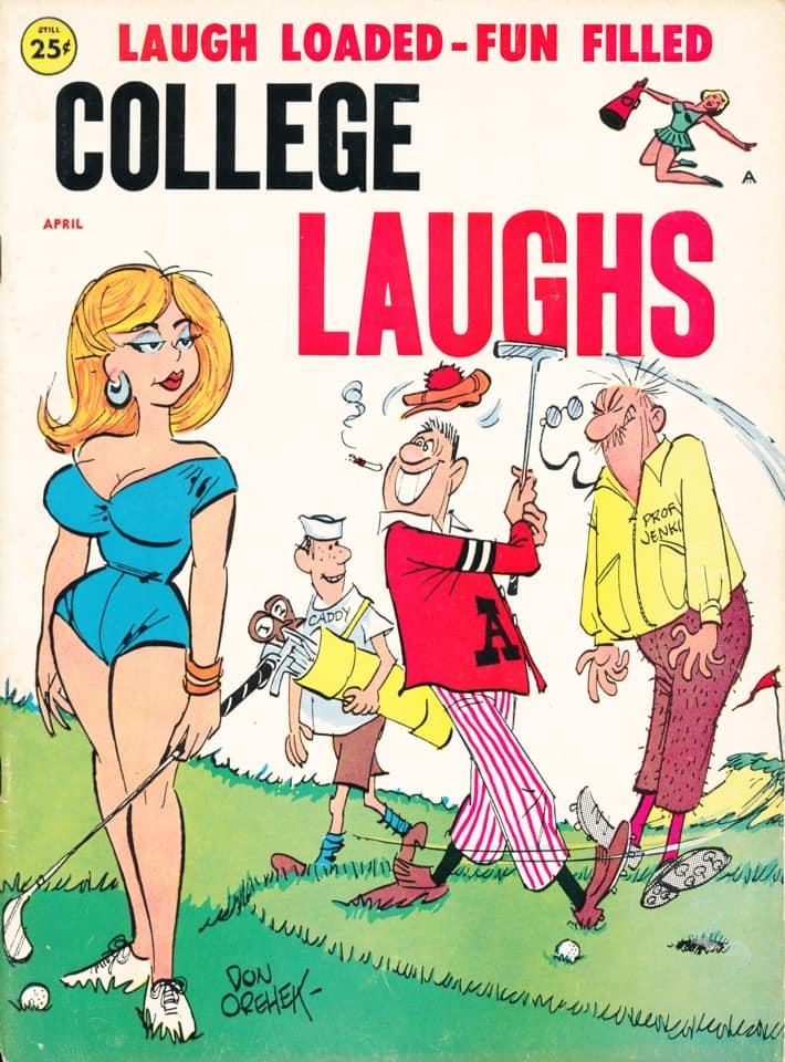 College Laughs #40 • USA