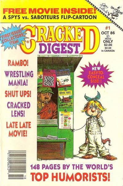 Cracked Digest #1 • USA