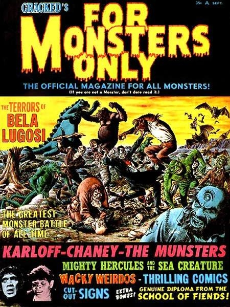 Cracked's For Monsters Only #2 • USA