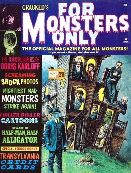 Cracked's For Monsters Only #3 • USA