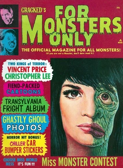 Cracked's For Monsters Only #4 • USA