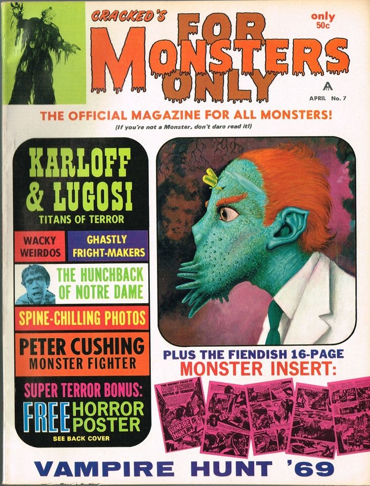 Cracked's For Monsters Only #7 • USA