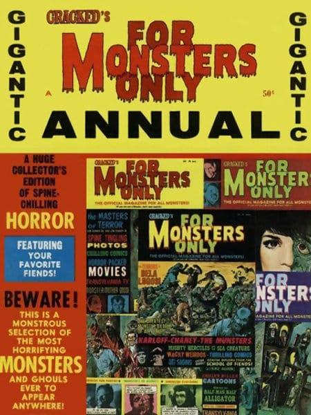 Cracked's For Monsters Only Annual #1 • USA