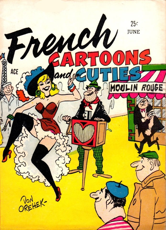 French Cartoons and Cuties #3 • USA