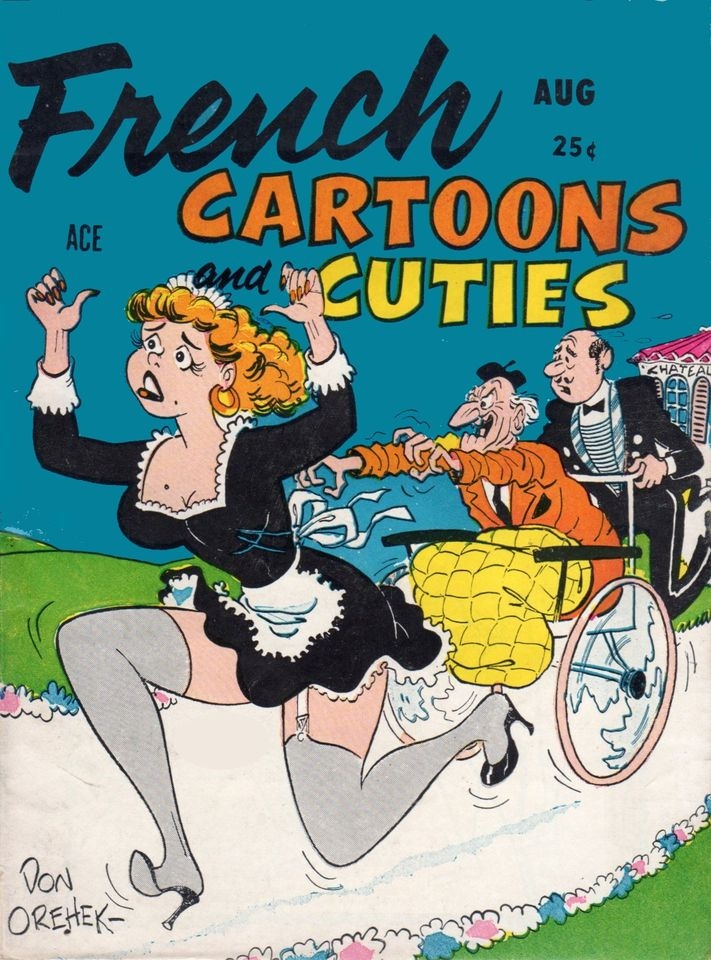 French Cartoons and Cuties #9 • USA