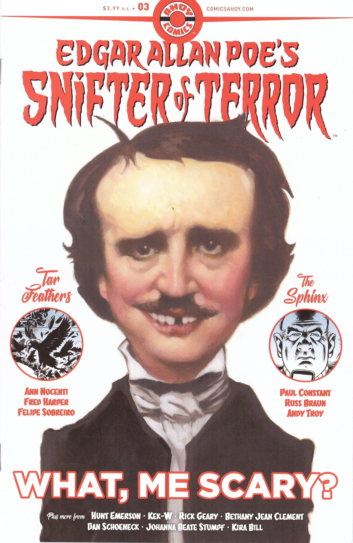Edgar Allan Poe's Snifter of Terror #3 • USA