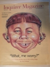 Image of Inquirer Magazine with Alfred E. Neuman Cover