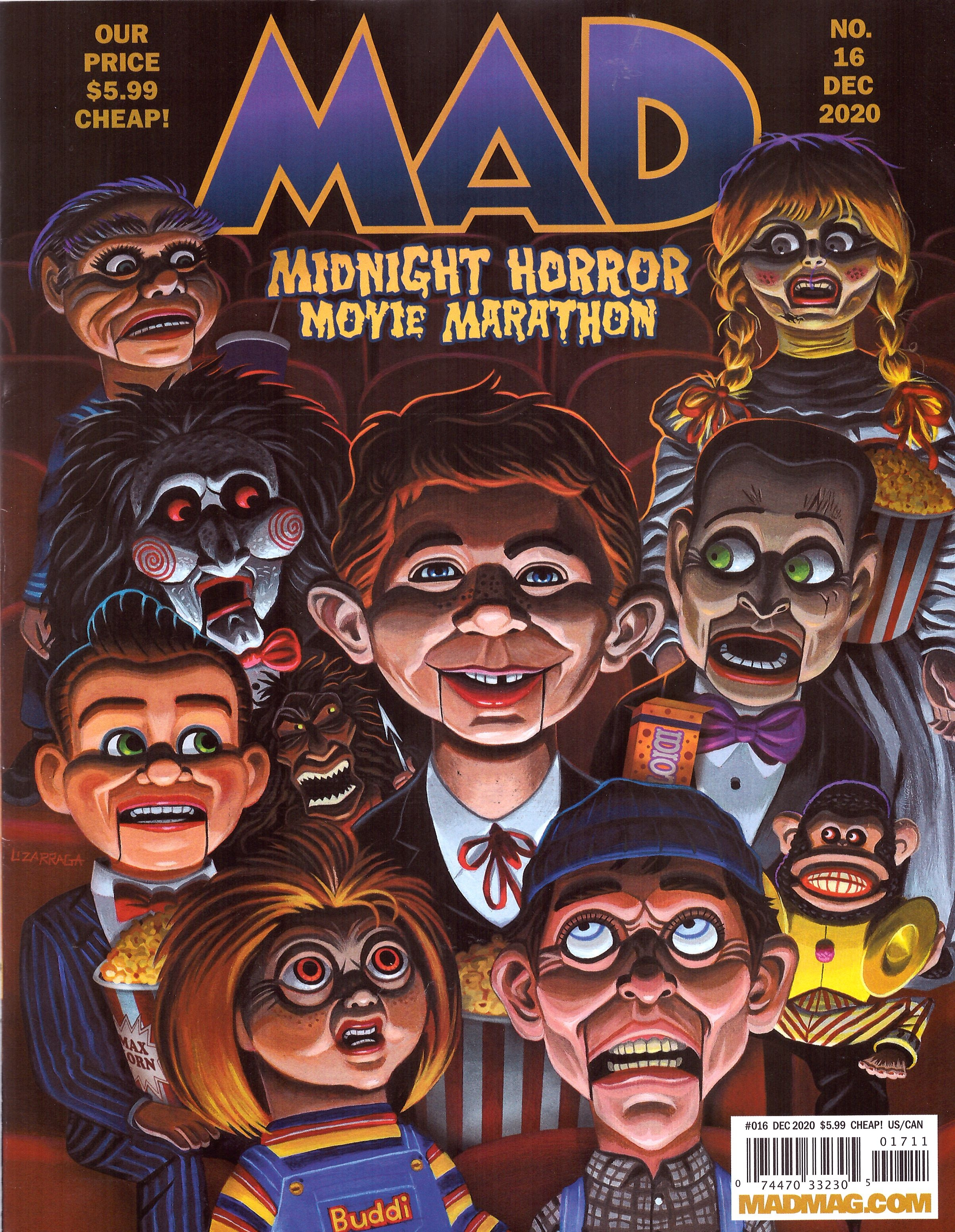 MAD Magazine #16 • USA • 2nd Edition - California