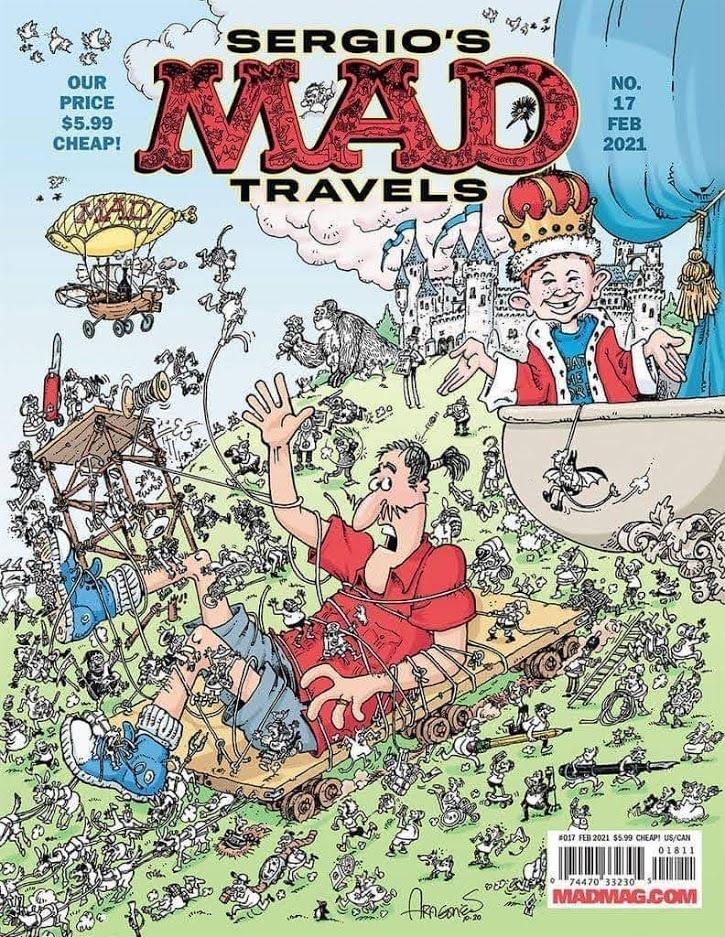 MAD Magazine #17 • USA • 2nd Edition - California