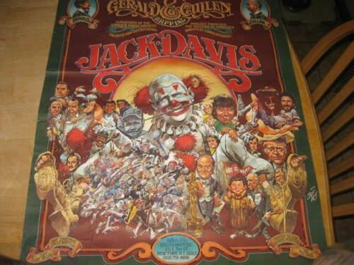 Jack Davis / Gerald & Cullen Rapp Promo Poster w/ Alfred E Neuman • USA