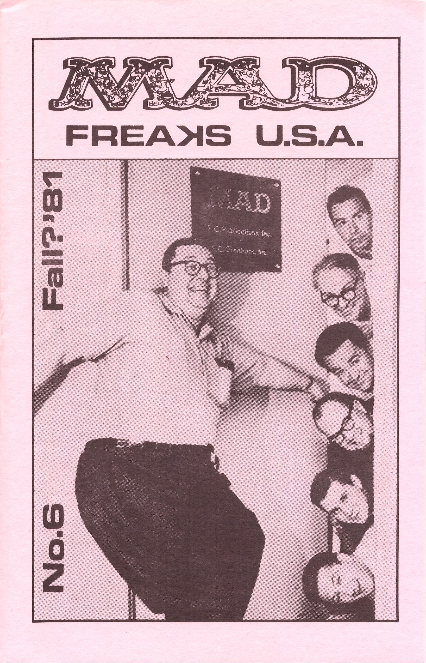 MAD Freaks U.S.A. #6 • USA