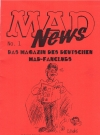 MAD News (Fanzine) #1 • Germany Publication Date: 1998