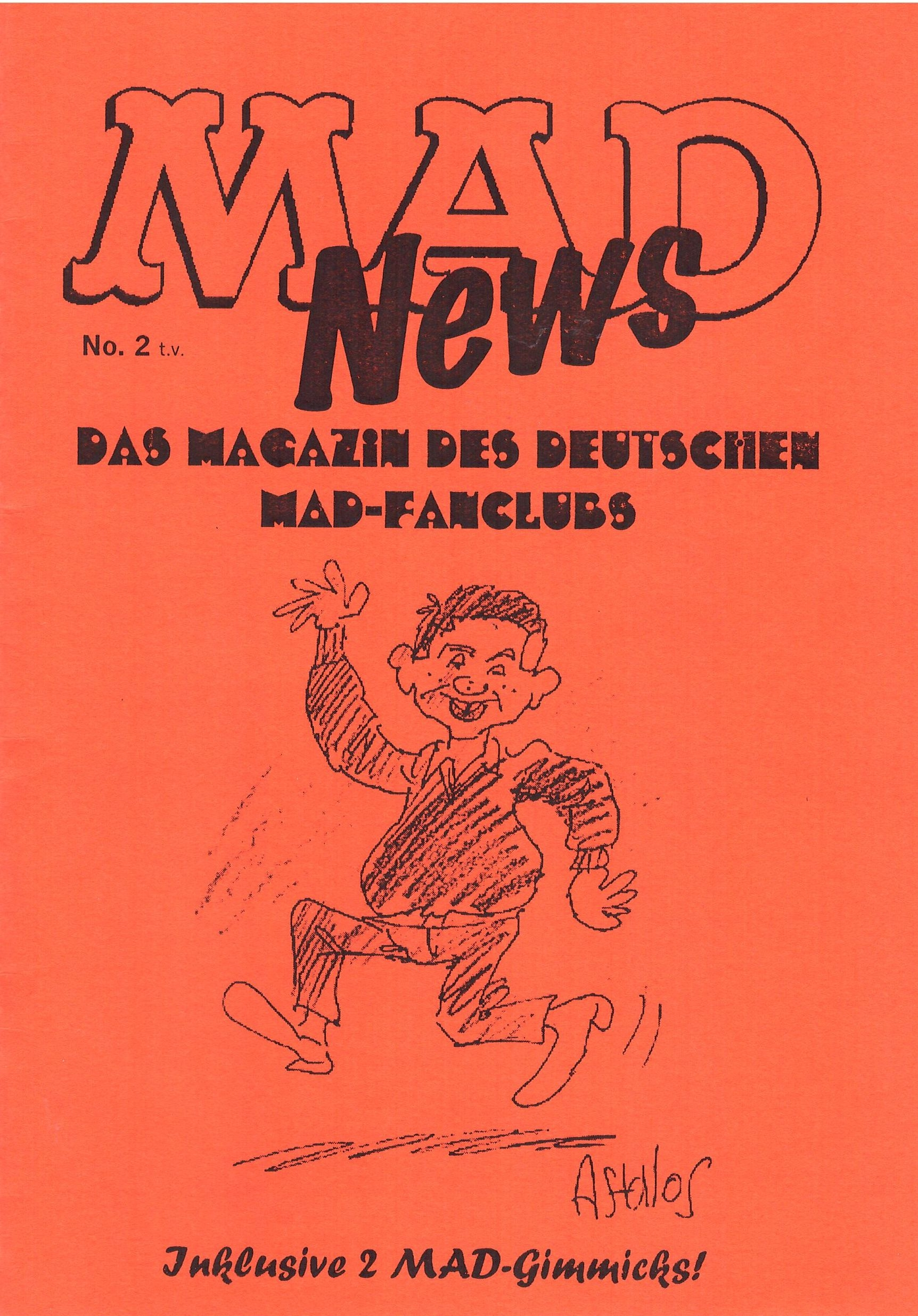MAD News (Fanzine) #2 • Germany