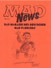 MAD News (Fanzine) #2 • Germany Publication Date: 1998