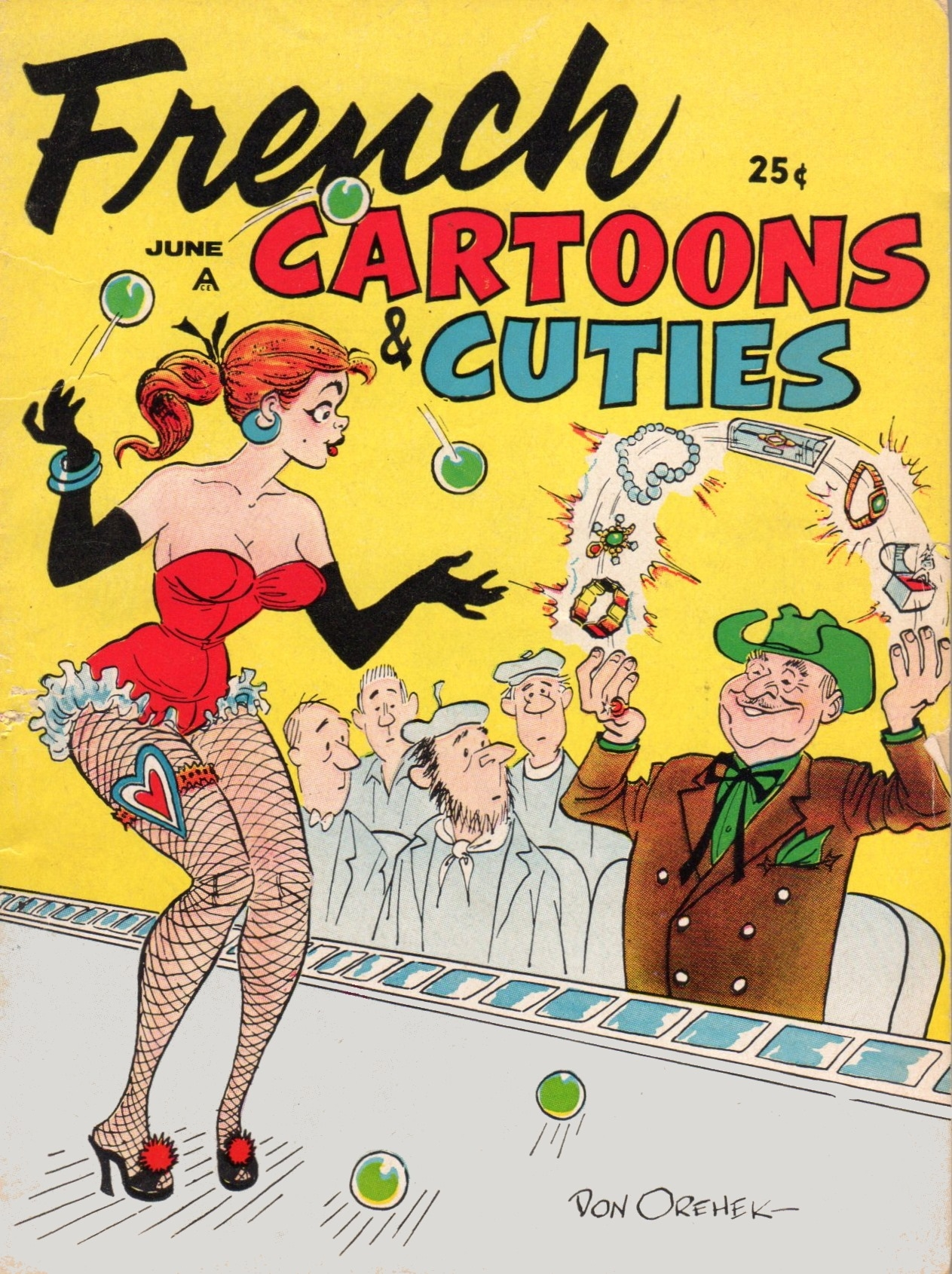 French Cartoons and Cuties #13 • USA